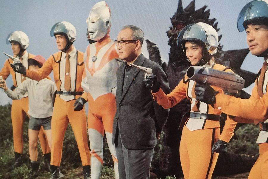圓谷英二在1966年富士電視推出的《超人力霸王》再度引燃熱潮。 圖/IMDb