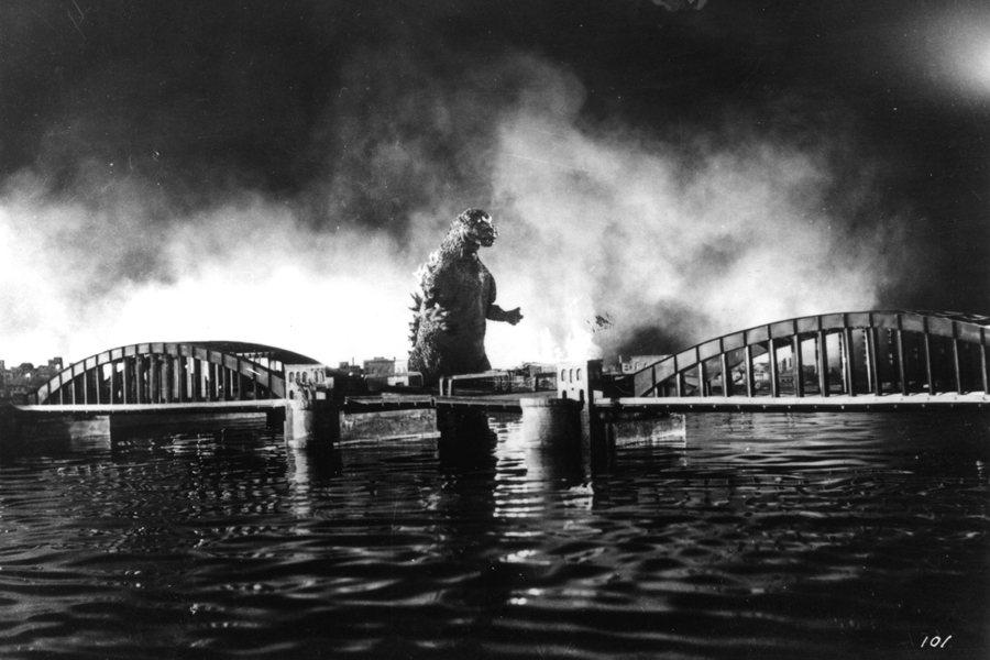 1954年東寶推出的《哥吉拉》(ゴジラ)是日本怪獸電影的始祖。 圖/IMDb