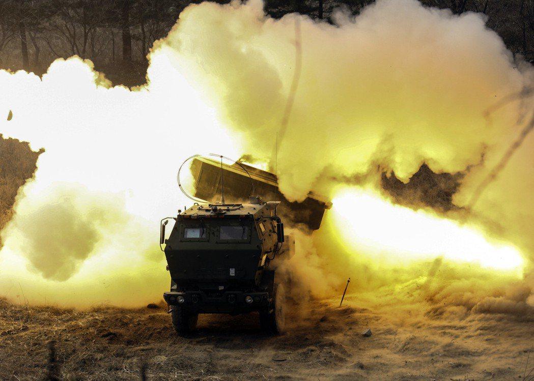HIMARS系統的高機動性戰時能增加生存性。 圖/美國陸軍