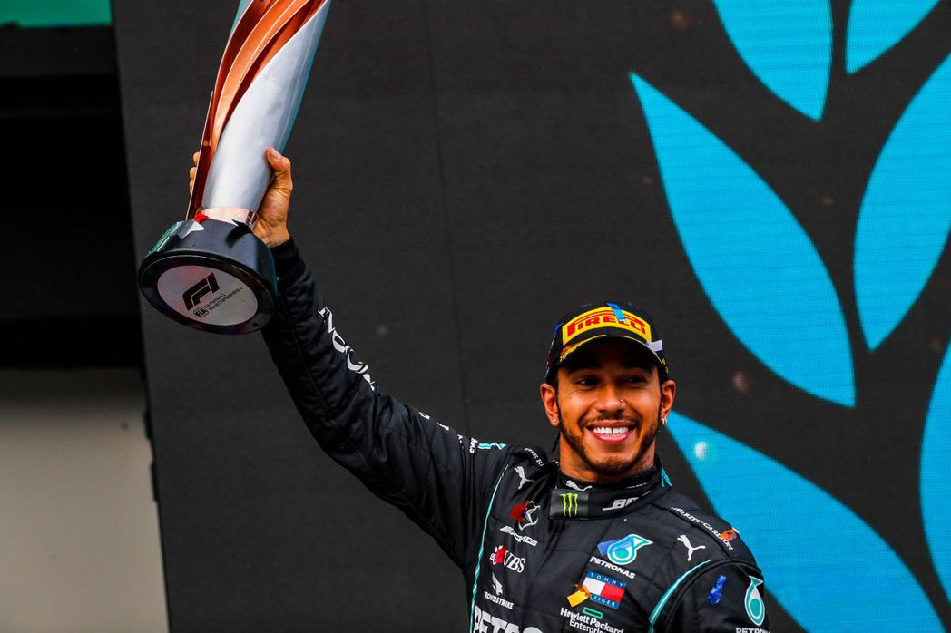 Lewis Hamilton奪下2020賽季F1世界冠軍。 摘自F1