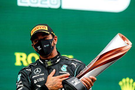 F1/Lewis Hamilton奪下2020賽季F1世界冠軍 7冠追平車神舒馬克!