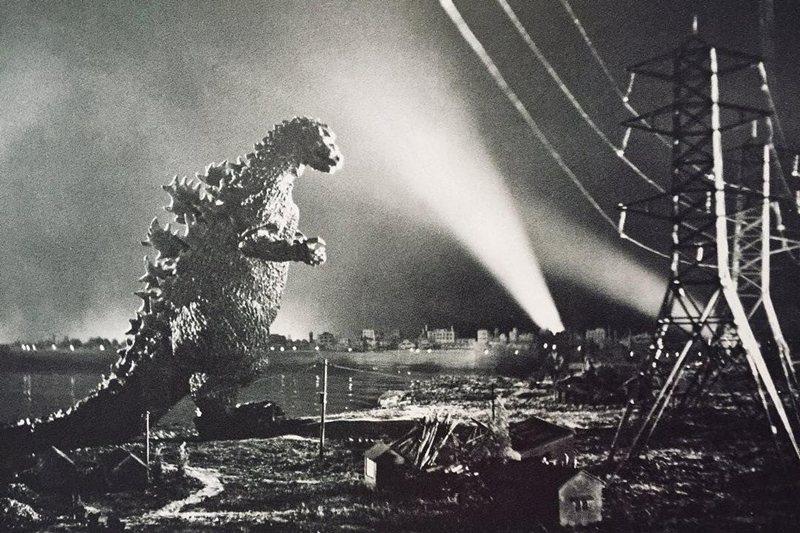 1954年的電影《哥吉拉》。 圖/IMDb