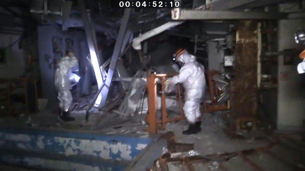 2019年進入福島第一核核電廠3號機反應爐廠房進行調查,事故當時3號機廠房曾經發...