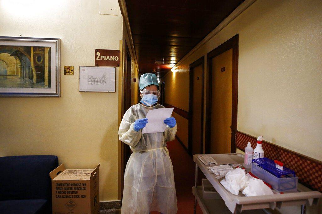 義大利研究人員發現,當地可能在2019年9月就出現新冠肺炎感染者。 圖/美聯社
