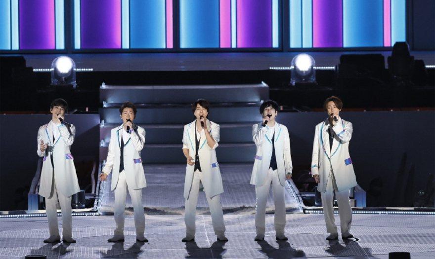 第71屆NHK紅白歌唱大賽的名單,傑尼斯天團「嵐」連續第12年登場。 圖/摘自微