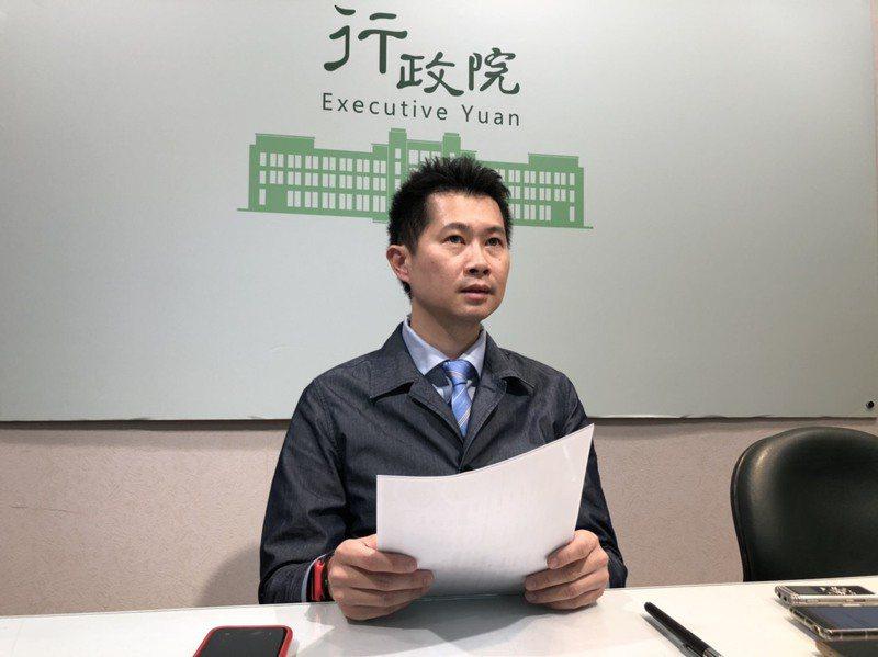 丁怡銘昨晚辭政院發言人獲准。圖/聯合報系資料照片