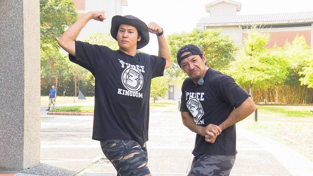 風田和夢多是在台灣演藝圈打拼的日本代表。圖/台視提供