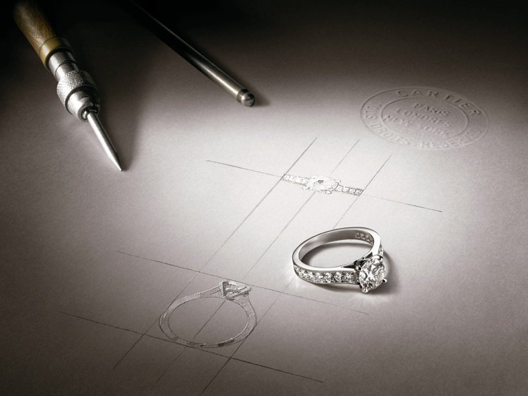 Cartier Set for you珠寶訂製服務。圖/卡地亞提供