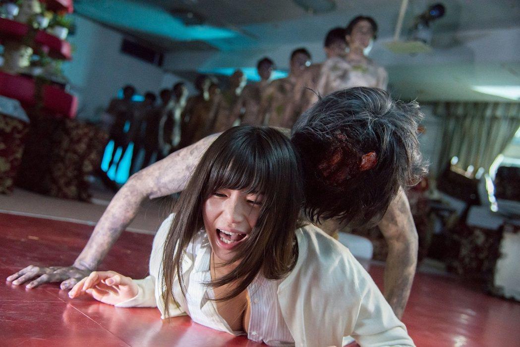 高橋聖子主演的驚悚情慾作「監幽」。圖/暗光鳥電影院提供