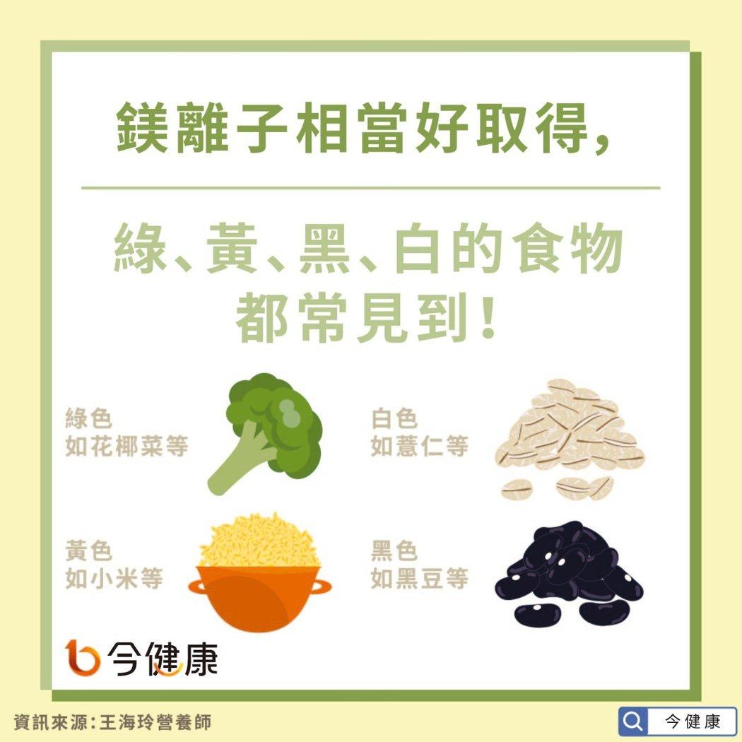 身體缺鎂,血壓、情緒都會受影響!專家:這4種顏色蔬果可補充
