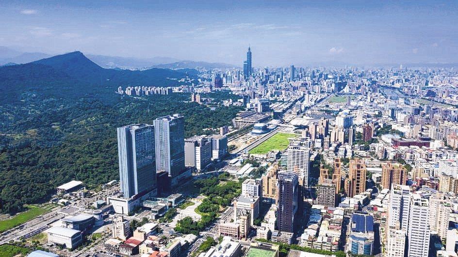 南港區內指標開發案「世界明珠」。 圖/聯合報系資料照片