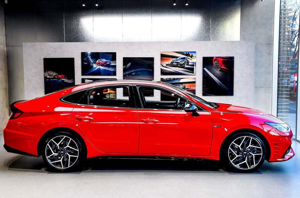 全新Hyundai Sonata N Line已於自家韓國市場販售中。 摘自Hy...