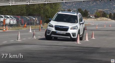 影/Subaru Forester的麋鹿測試結果令人訝異!?