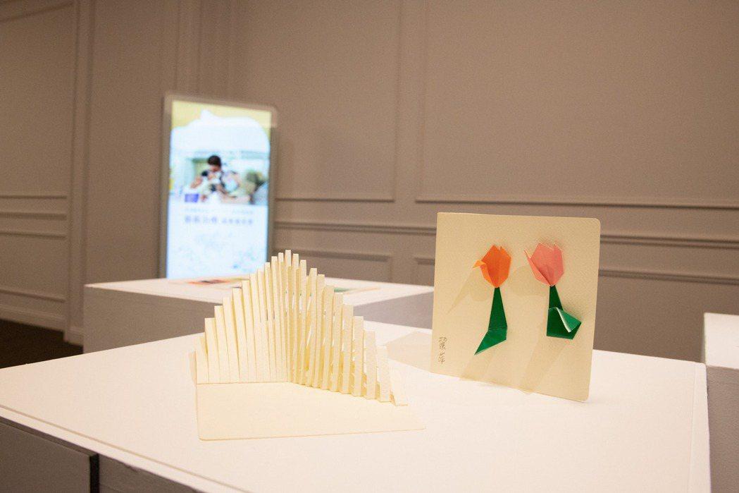 藝術治療成果發表會,病友作品展覽。奇美博物館/提供