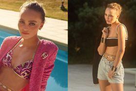 莉莉蘿絲戴普化身Chanel 2021度假系列繆思!致敬60年代女星慵懶造型