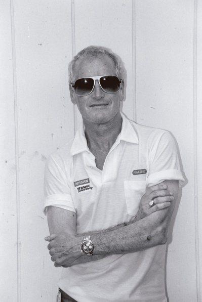 保羅紐曼配戴勞力士Big Red型號 6263 Cosmograph迪通拿腕表。...