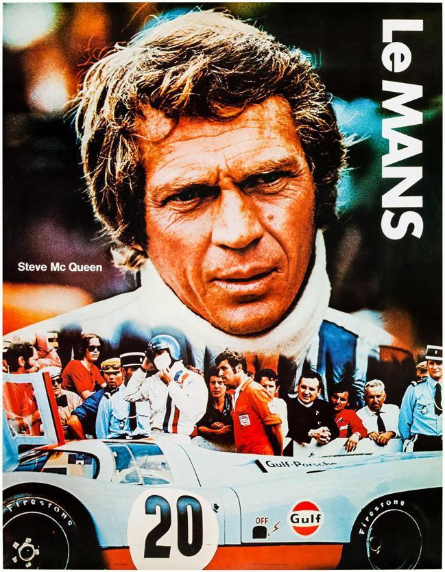 史提夫麥昆在賽車電影「極速狂飆」中配戴過的豪雅Monaco腕表也將上拍。圖/富藝...