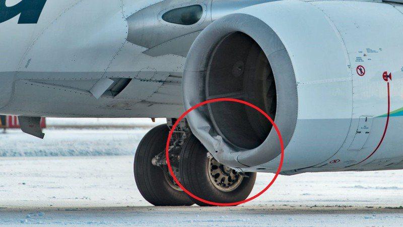 事故發生後,客機的左引擎整流罩受損,15日仍留在雅庫塔特機場接受維修,航空公司表示:「我們的維修技術人員正在修理飛機,這將需要幾天時間。」美聯社