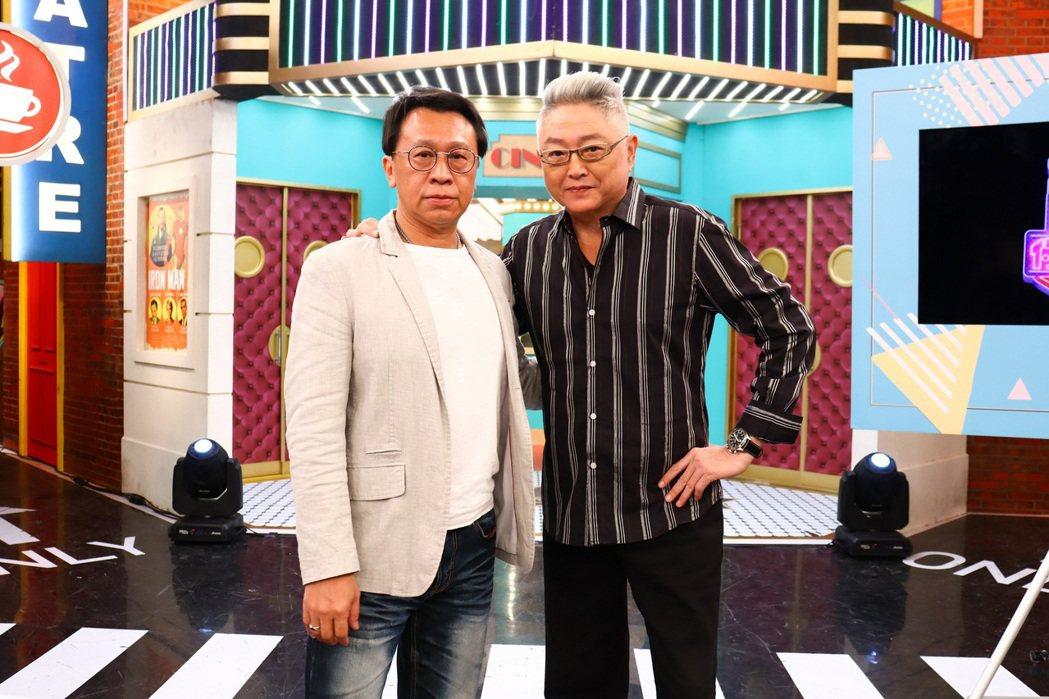 游安順(左)和李國超日前上衛視「請問你是哪裡人」。圖/衛視提供