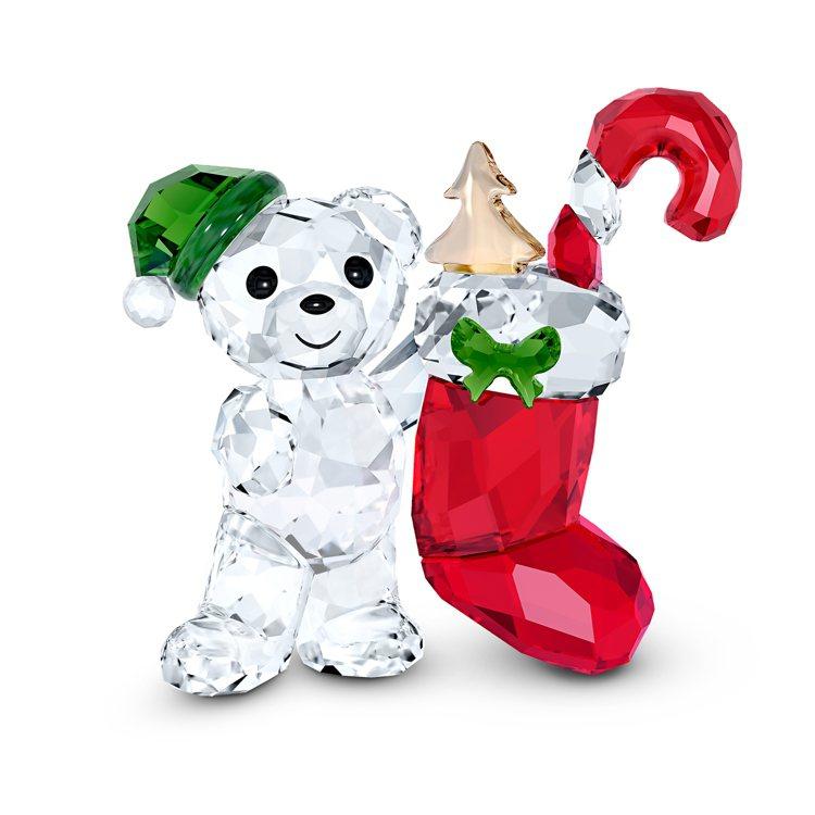 施華洛世奇KRIS小熊2020聖誕限定版,3,990元。圖/施華洛世奇提供