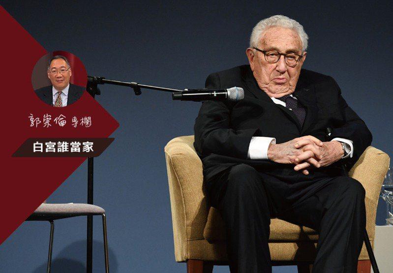 美國最知名的外交官季辛吉,現年已97歲。路透