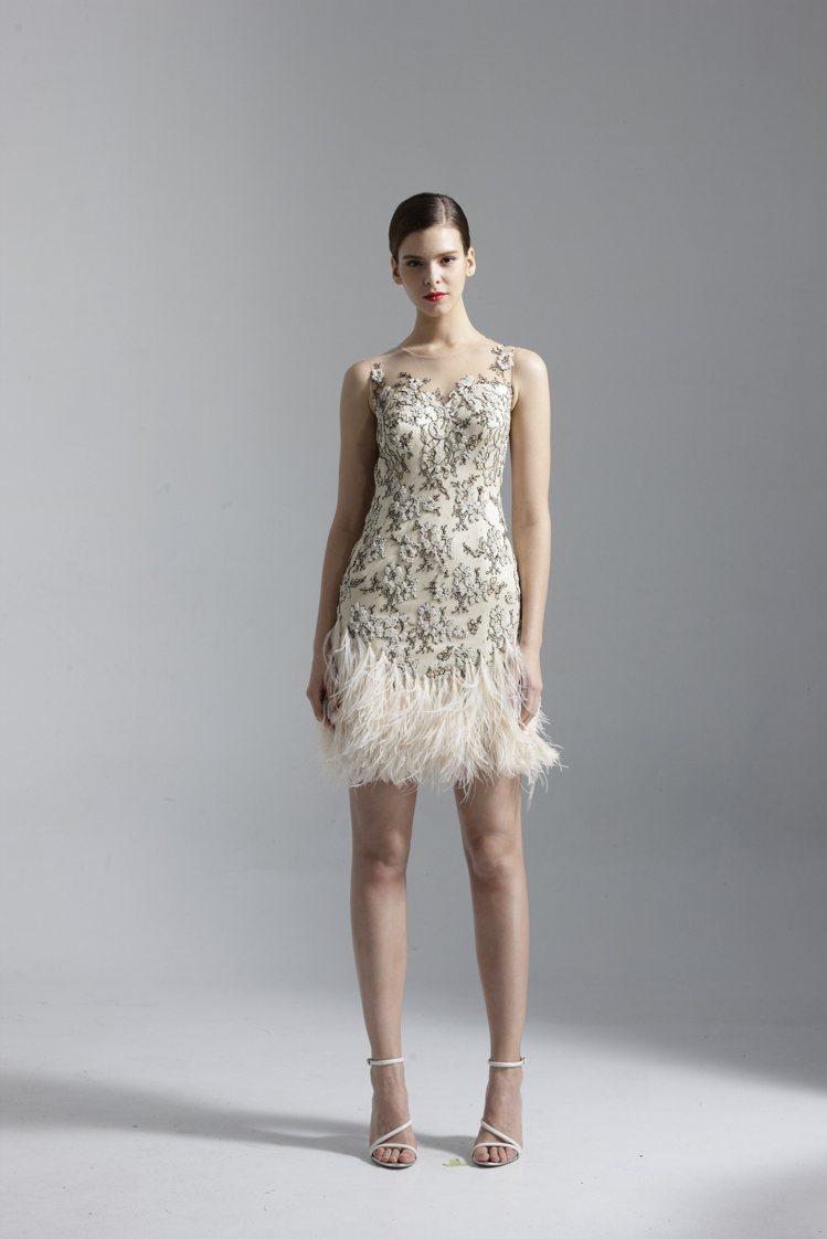 張鈞甯客製禮服,起拍價18.8萬元。圖/Khieng ATELIER提供
