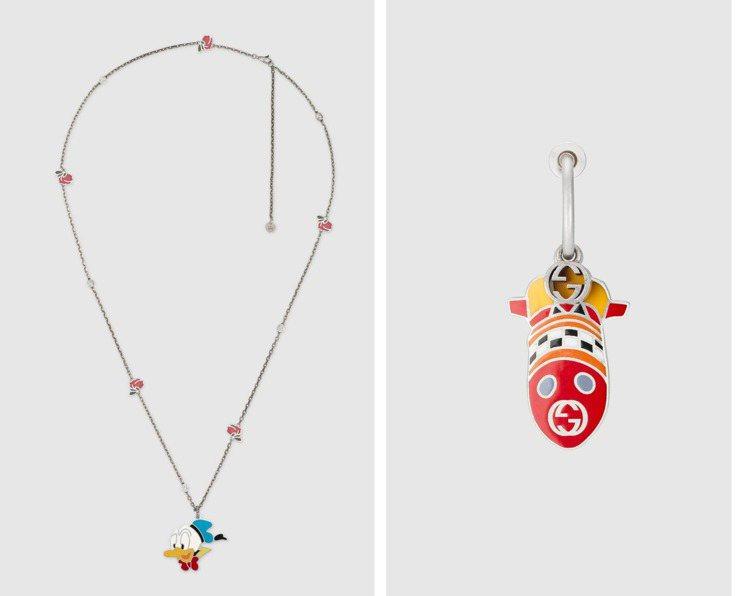 除表款外,同系列另有項鍊、耳環、戒指等飾品,價格自9,700元至13,600元不...