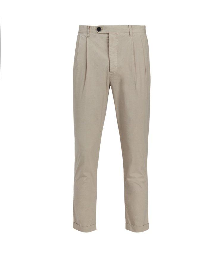 AllSaints Bengal米白色西裝褲6,100元。圖/AllSaints...