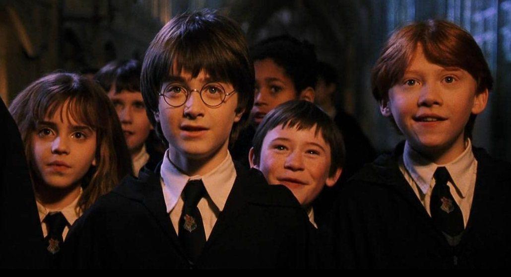 「哈利波特:神秘的魔法石」童星們現在都已30出頭。圖/摘自imdb