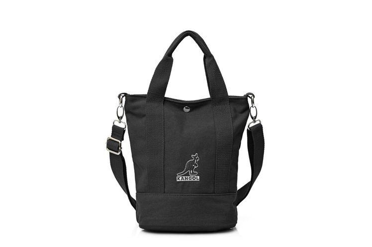 KANGOL經典帆布側背包(黑),市價880元,紅利點數10,000點,加價購4...