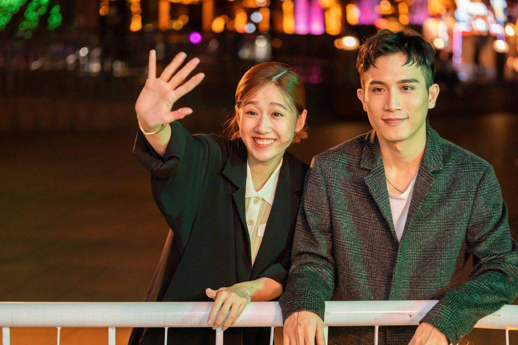 方志友(左)與陳彥允在廣告中飾演夫妻。圖/TVBS提供