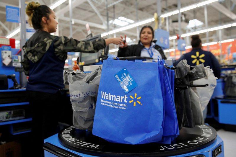 美國零售巨人沃爾瑪謹慎看待本季展望。 (路透)