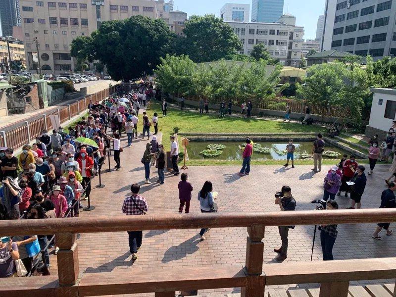 逍遙園重新開園後,吸引許多遊客到訪。  圖/本報資料照片