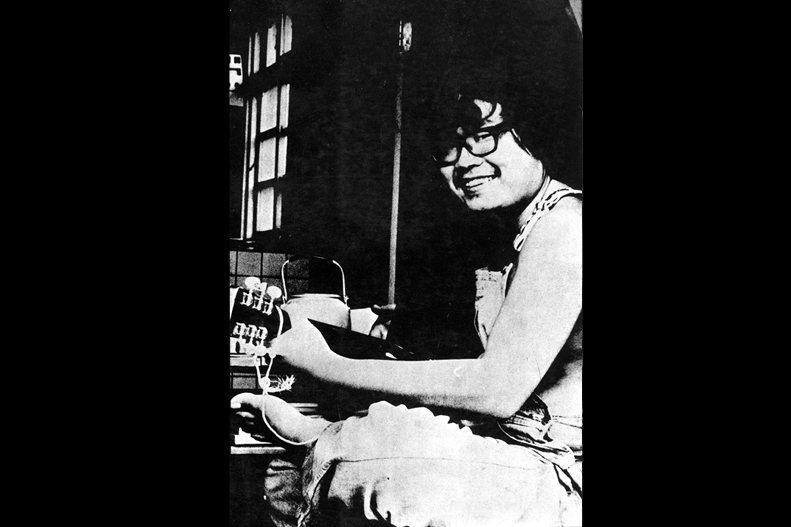 李雙澤譜了一首〈美麗島〉,在他意外身亡後,這首歌掀起了萬丈波濤。 圖/野火樂集提供