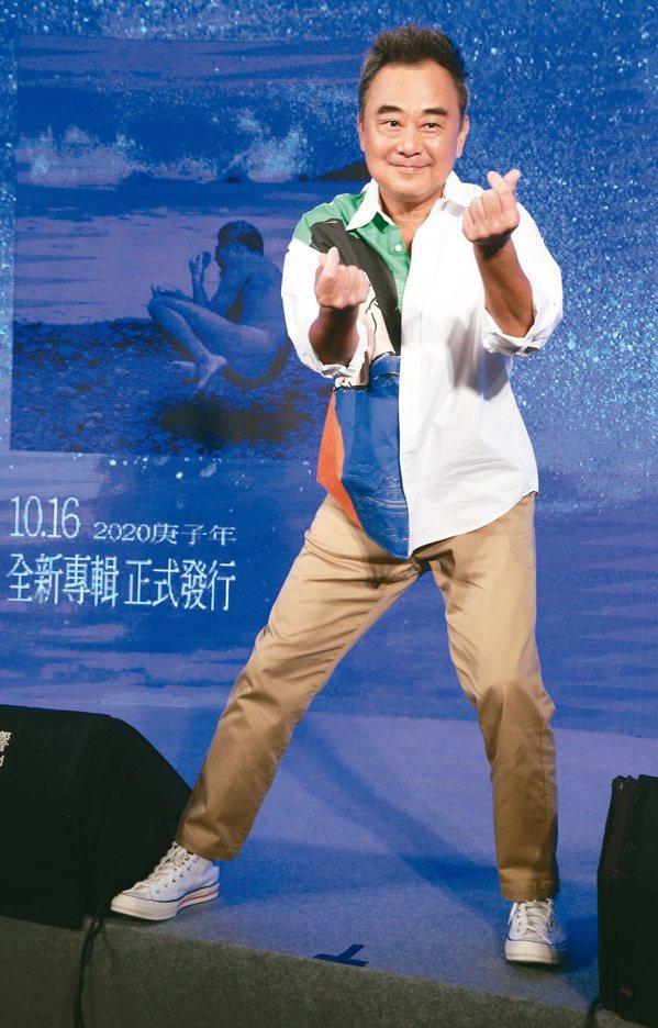 陳昇於昨(17日)突在官方臉書宣布因健康檢查出「口腔有腫瘤」 圖/林俊良 攝影