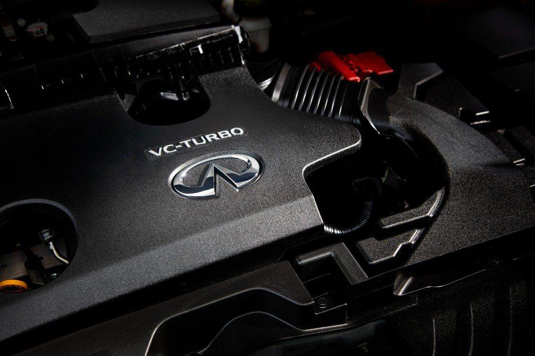 2.0升VC-Turbo可變壓縮比渦輪增壓引擎,可產生268hp馬力以及38.7...
