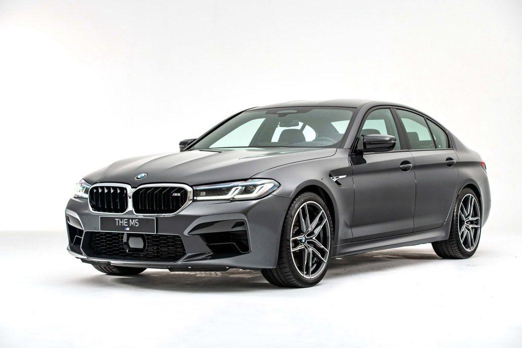 眾所期待的全新BMW M5強勢重磅登場。 圖/汎德提供