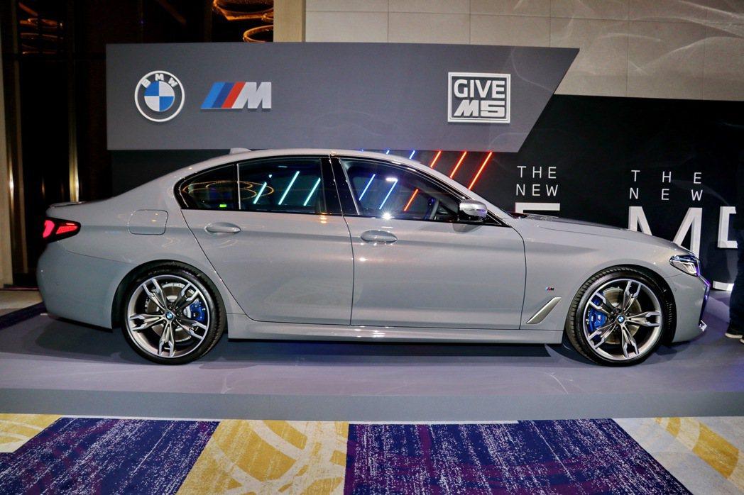 如果想要更加堅固日常生活使用,全新BMW M550i xDrive將會是最好的選...