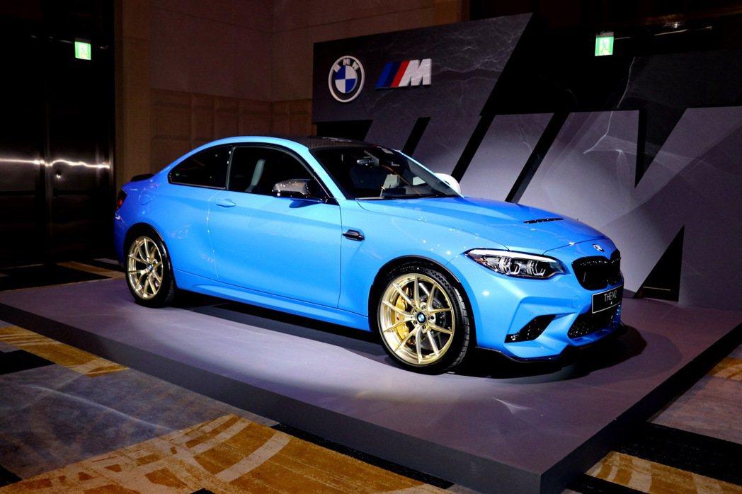 全新BMW M2 CS。 記者陳威任/攝影