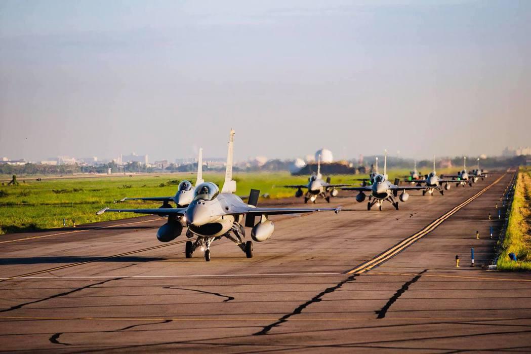 我國F-16戰機。 圖/軍聞社