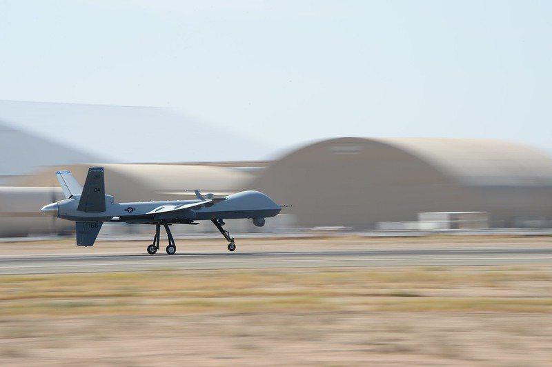 美軍MQ-9無人機。 圖/美國空軍