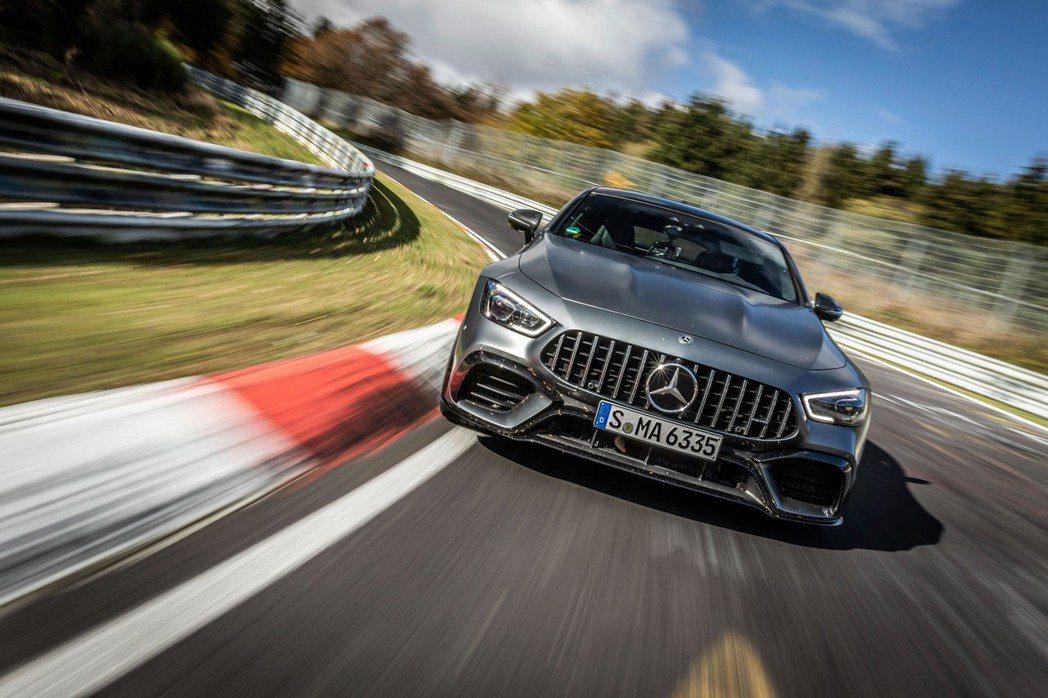 2018年也當過紐柏林最速四門房車的Mercedes-AMG GT 63 S 4...