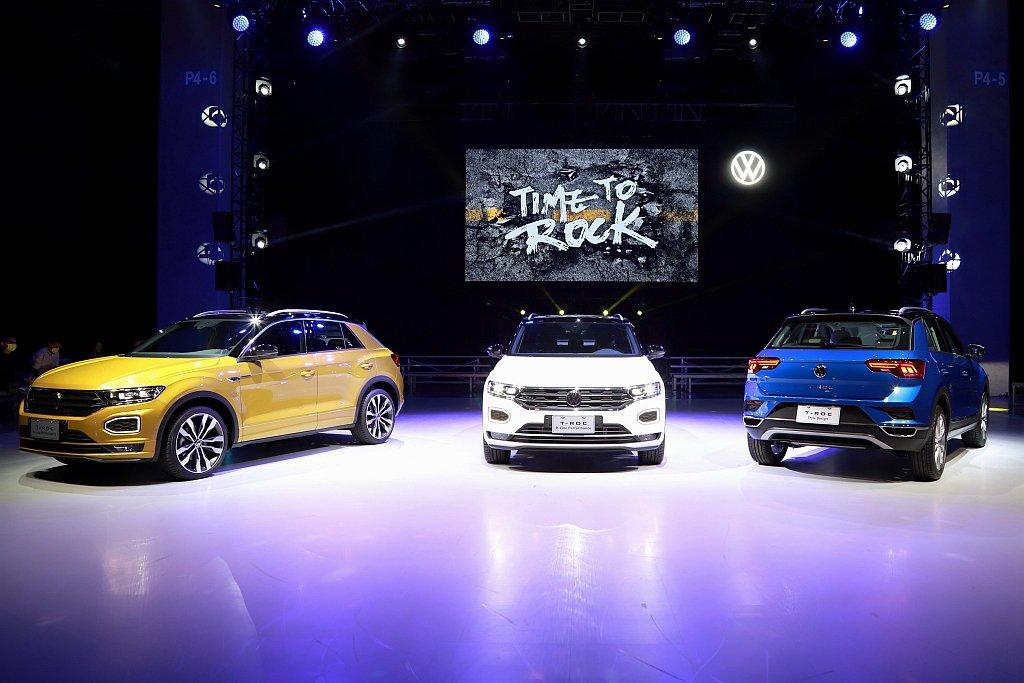 福斯汽車正式發表T-Roc都會跑旅,並成為台灣市場第四款休旅車。 記者張振群/攝...