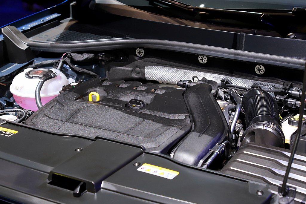 1.5L TSI渦輪引擎最大馬力150ps與25.5kgm扭力,同時具備ACT主...