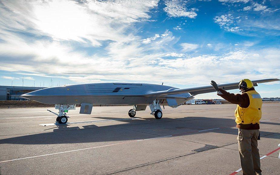 預計佛洛諾伊技術押寶多系統整合與無人系統。圖為美軍研發中MQ-25無人加油機。 圖/波音網站