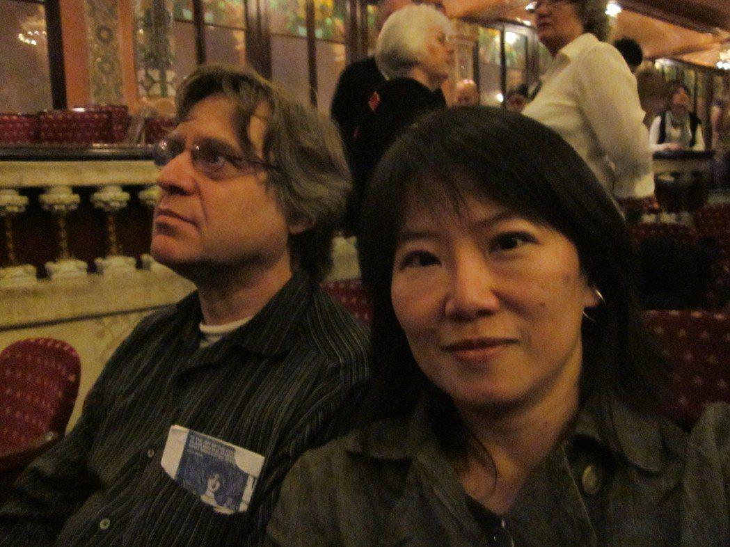 韓良憶因荷蘭老公(左)對西菜有了更多著墨。圖/韓良憶 提供