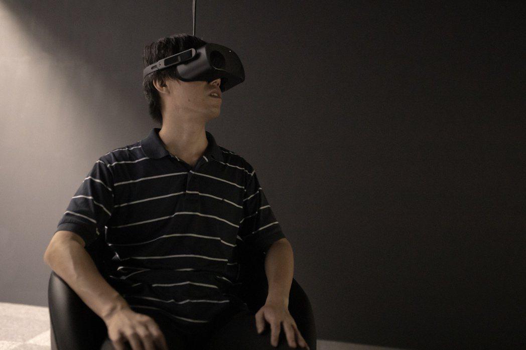 全明遠義無反顧地投入VR敘事創作。 圖/Gelee攝影