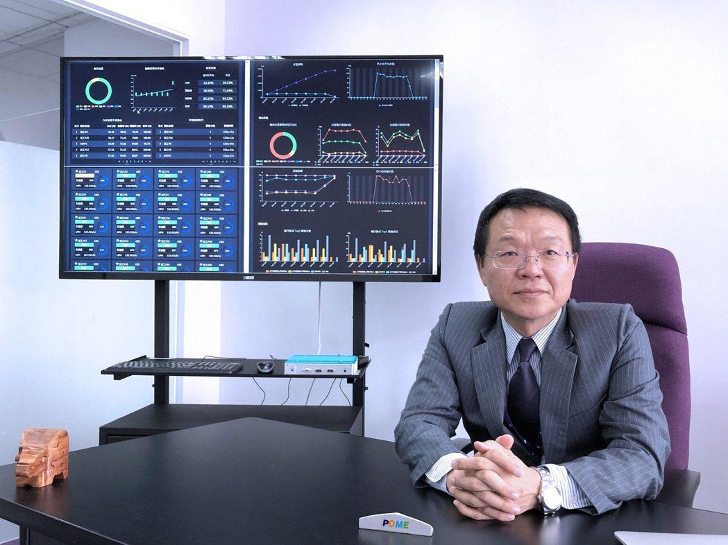 瑞精工科技總經理黃建昌。 翁永全/攝影