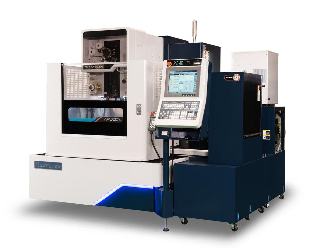 精呈科技NP500L智慧化高精度線馬線切割加工機,奪經濟部第27屆中小企業創新研...