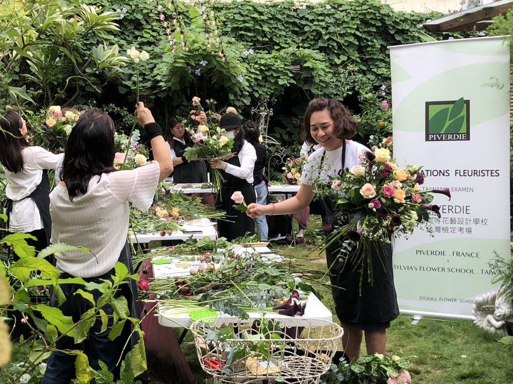 花藝老師在Book Zakka &Sylvia's Garden法式花園~巴黎小...